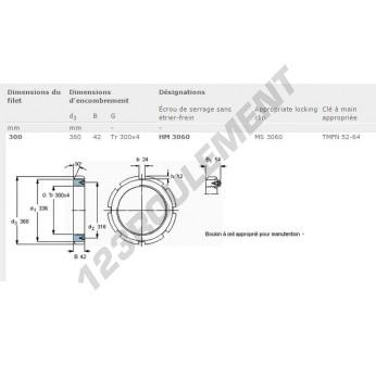 HM3060-SKF - 300x360x42 mm