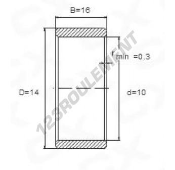 IR10-14-16 - 10x14x16 mm