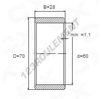 IR60-70-28 - 60x70x28 mm