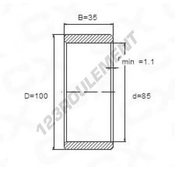 IR85-100-35 - 85x100x35 mm