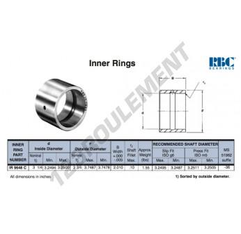 IR9648-C-RBC - 82.55x95.25x51.05 mm