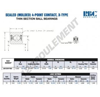 JB075-XP0-RBC - 190.5x206.38x7.94 mm