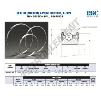 JU070-XP0-RBC - 177.8x196.85x12.7 mm