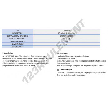 LB-8008-454GR-LOCTITE