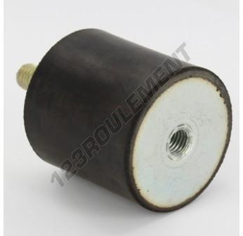 MF5050-10 - M10x50x50 mm