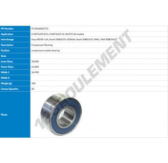 BD3011A-PFI - 30x62x26.99 mm