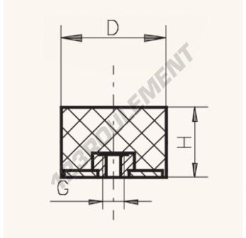 PF7530-12 - M12x75x30 mm