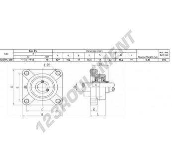 FPL208-SSUC208-INOX