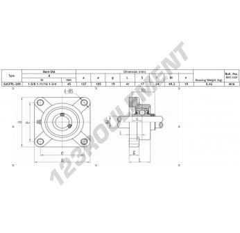 FPL209-SSUC209-INOX