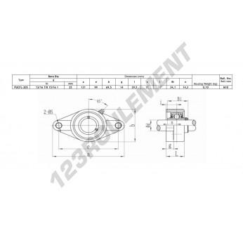 FLPL205-SSUC205-INOX