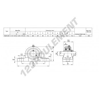 PPL207-SSUC207-INOX