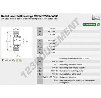 RCSM-B25-65-FA106-INA - 25x65.1x31 mm