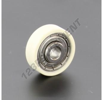 S608-ZZ-RW4-25.5 - 6.3x25.5x8.8 mm