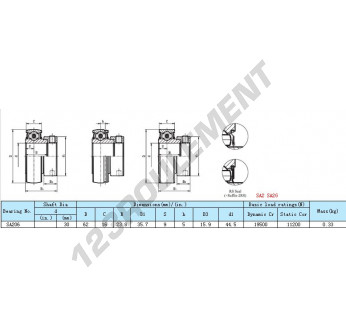 YET-SA-206 - 30x62x16 mm