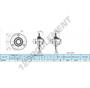 SAPF204 - 20 mm