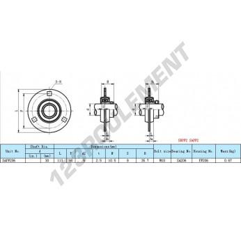 SAPF206 - 30 mm