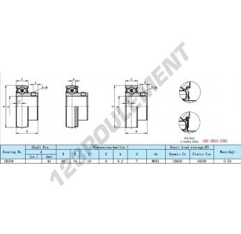 SB208 - 40x80x34 mm