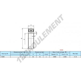 CS206 - 30x62x16 mm