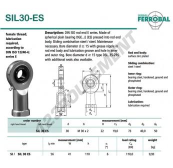 DSIL30-ES-DURBAL