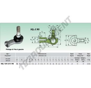 SQL012-C-RS - 12 mm