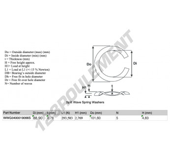 SWSW-101.60-88.90-0.76-5-SS - 88.9x0.76 mm