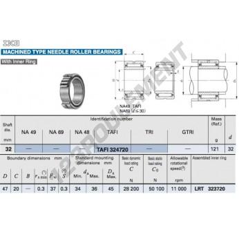 TAFI324720-IKO - 32x47x20 mm