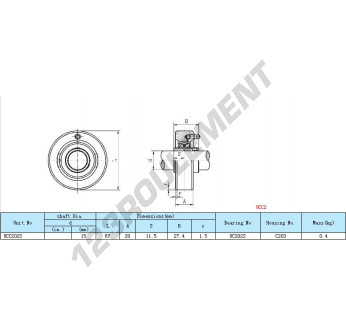 UCC202 - 17 mm