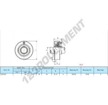 UCC210 - 50 mm