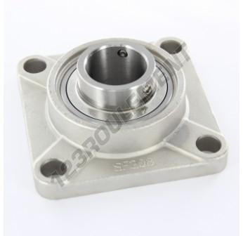 UCF208-INOX - 40 mm