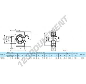 UCT201 - 12 mm